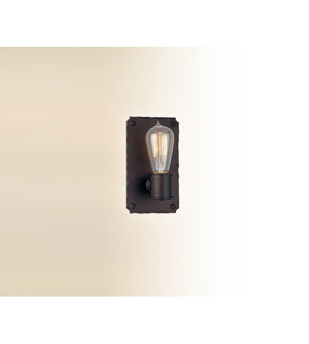 (Troy Lighting Jackson 1-Light Wall Sconce - Copper Bronze Finish)