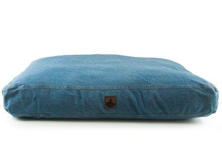 "K9 Ballistics Nesting Denim Bed Indigo - Large (34""x40"")"