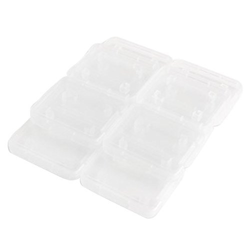 Carry Storage Box - TOOGOO(R) 10PCS Transparent Standard SD SDHC Memory Card Case Holder Box Storage