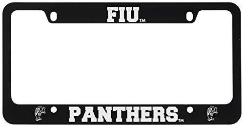 Florida International University-Metal License Plate Frame-Black