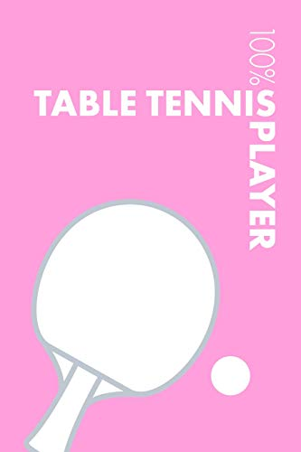 Womens Table Tennis Notebook: Blank Lined Womens Table Tennis Journal For Female Table Tennis Player and Coach por Elegant Notebooks