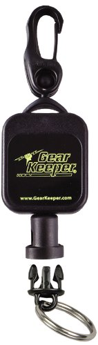 Hammerhead Industries Gear Keeper RT5-5901 Micro Scuba Retractor Snap Clip Mount with Q/C Split Ring Accessory