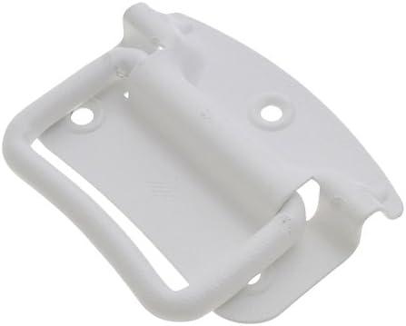 八幡ねじ SELECTS補助金具 トランク取手 マッドホワイト Lサイズ 9.2×8.7×4.5cm 1個