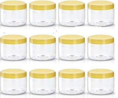 Sunpet SPL 150 12 Polyurethane Storage Cantainers   150ml, Set of 12, Yellow