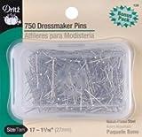 Bulk Buy: Dritz Dressmaker Pins Size 17 750/Pkg 126 (3-Pack)