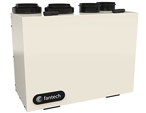 Fantech VHR 70R Heat Recovery Ventilator (HRV) Winter Guard Recirculation Defrost 3 Speed (Fantech Heat Recovery Ventilator)