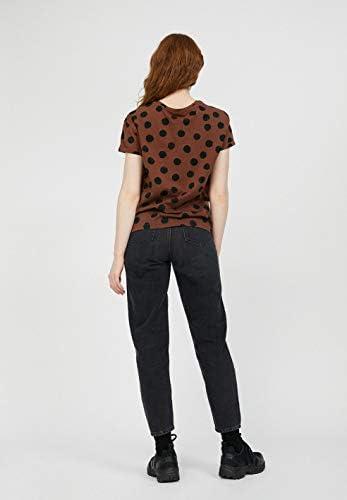 ARMEDANGELS NAALINA Big DOTS - damska koszulka z bawełny ekologicznej koszulka loose fit: Odzież