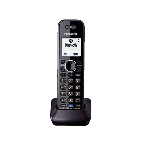 Panasonic Additional Handset for 2-Line Cordless Phone System - Long Range DECT 6.0 KX-TG95xx Series Business Telephones - KX-TGA950B (Black)