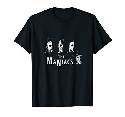 The Maniacs halloween t shirt