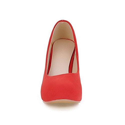 Balamasa Sandales Balamasa Compensées Compensées Femme Red Sandales aEafxqdr