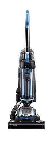 Black & Decker Ultra Light Weight, Lite BDASL202 AIRSWIVEL Lightweight, Powerful Upright Vacuum Cleaner, Blue (Upright Ultra Vacuum)