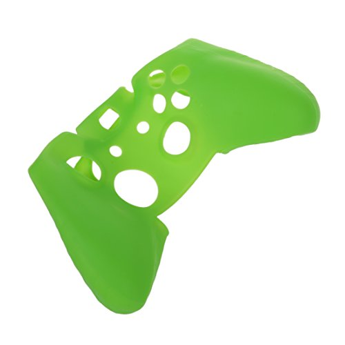 SODIAL(R) Soft Silicone Gel Protective Skin Cover Case for XBOX ONE Controller Green by SODIAL(R) (Image #3)