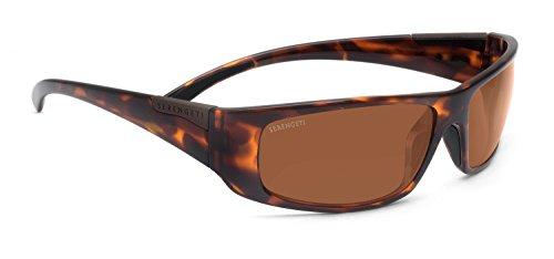 Serengeti RX Eyewear Fasano Sunglasses (Dark Tortoise, Polar PhD (Phd Drivers)