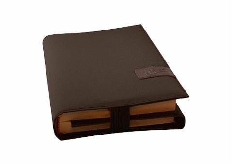 BookSkin kaffeebraun: Elegante Buchhülle aus Mikrofaser mit integriertem Lesezeichen Bürobedarf & Schreibwaren – 1. August 2012 Barth & Bauer B008U5UZG6 Sonstiges (Adreßbücher Alben