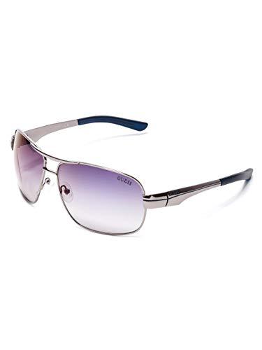 GUESS Factory Men's Metal Navigator Sunglasses (Men Navigator)