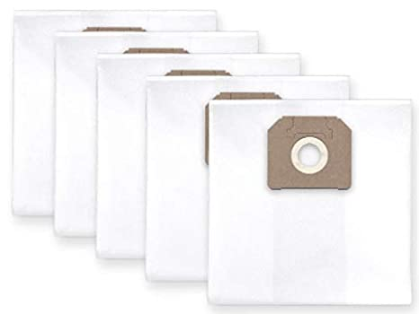 5x bolsas para aspirador tejido Nilfisk ALTO ATTIX 751-11 ...