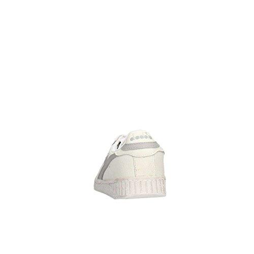 Waxed High EUR Shoe Diadora L Game 0 Tennis Adults' 42 Grey Unisex Black qgO4ZX