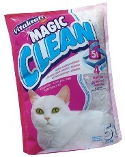 Vitakraft Magic Clean Cat Litter Silicone 5 Litres Case of 6