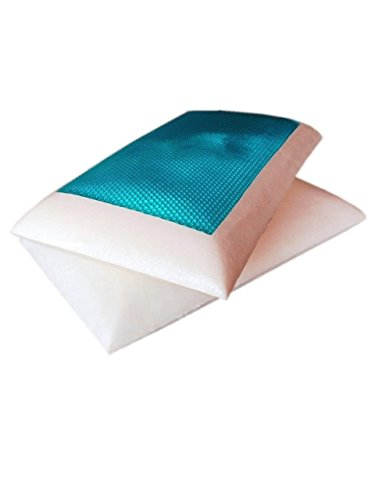2-pack-standard-queen-solid-memory-foam-bed-pillow-with-cooling-blue-gel-top-surface-white-cover-cas