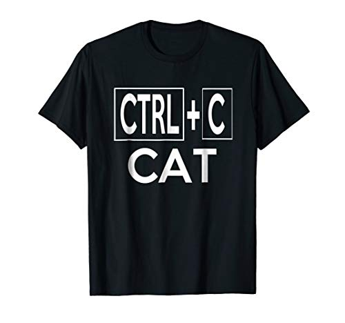 Copy Cat Matching Couples Halloween Costume T-shirt -