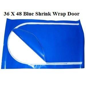 36 X 48 Inch Blue Shrink Wrap Door By US Marine Products by US Marine Products