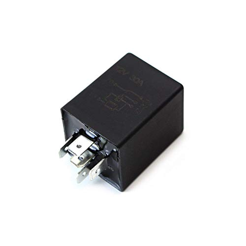 d Time Delay Relay Module, 5-Pin 12V 30A SPDT, For Automotive Lighting ()