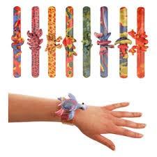 MunchieMooskids 15 x Animal Snap Bracelet For Party Bag Fillers