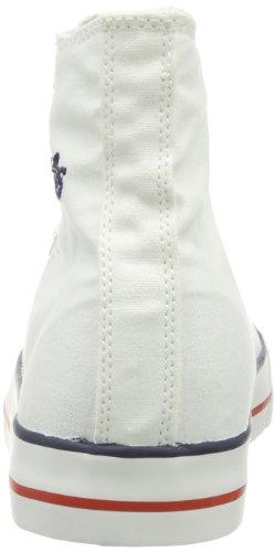 Lico Jazz High, Zapatillas Altas para Mujer blanco - Weiß (Weiß)