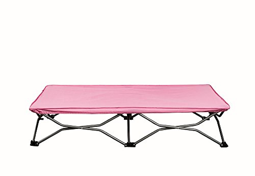 Regalo-My-Cot-Portable-Toddler-Bed-Includes-Fitted-Sheet-and-Travel-Case-Pink