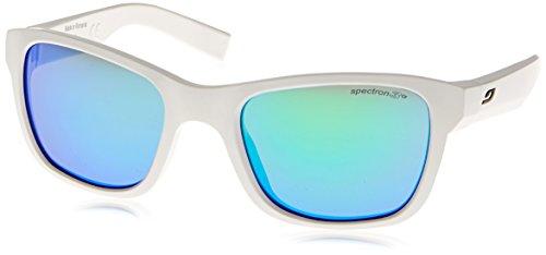 Julbo Kid's Reach L Sunglasses, Shiny White, Spectron 3+ Lens, 10-15 Years