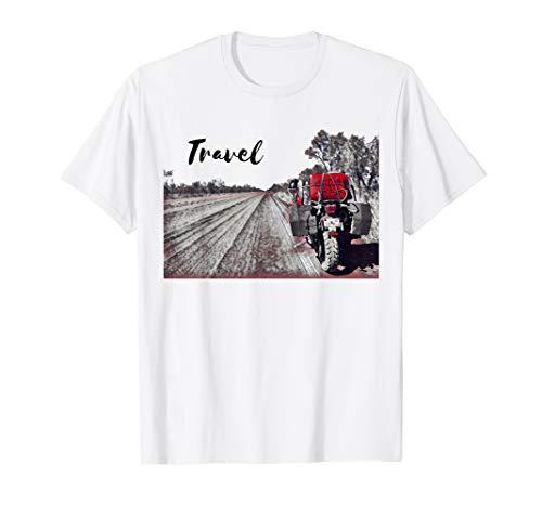 Travel Motorcycle Triumph Adventure Bike Desert Road T-Shirt