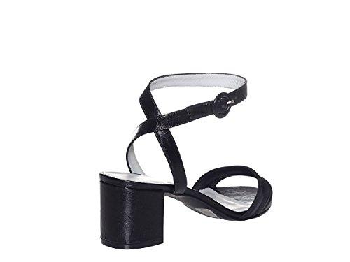 Carmens A41269 Pe18 Nero Sandalo Scarpe Padova Donna O1OzHA