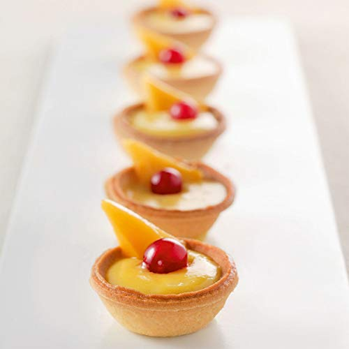 Mini Sweet Coupelle Tart Shell 1.54'' - 245 pcs - PCB030881 by Pastry Chef's Boutique (Image #2)