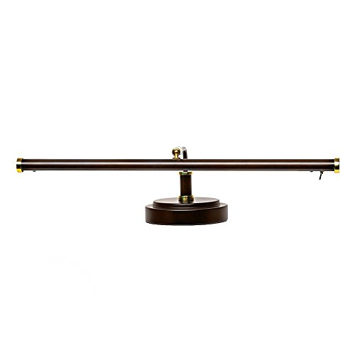 Mahogany Bronze Piano Lamp - 4