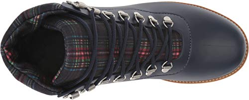 Boot Navy Hiker Rain Rubber Navy Plaid Womens Winnie Bernardo 7BpPWIfw
