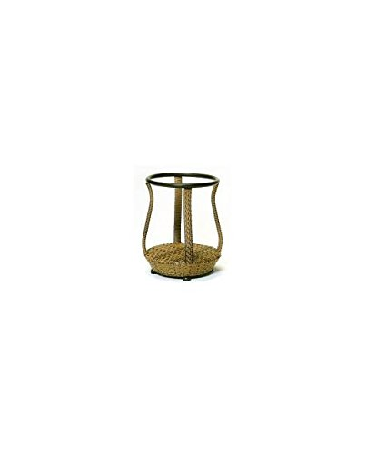 South Shore End Table - Base Only - Weathered Ash by Woodard