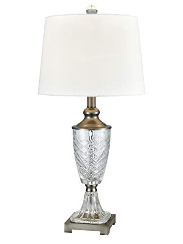"Dale Tiffany SGT17168 Castle Mountain Table Lamp 28"" Crystal"