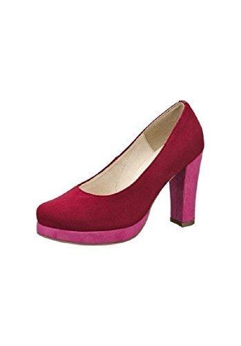 Perrotta de tacón de Andrea Conti rojo - rosa (Beere)