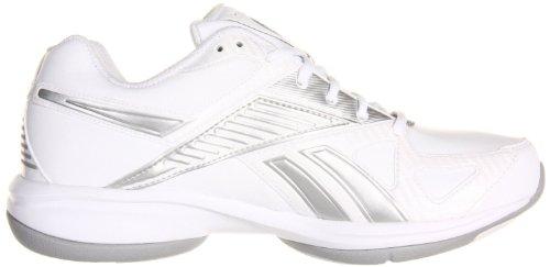Reebok Women's Simplytone Fitness Shoe,White/White/Silver,8.5 M US