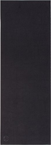 Manduka 'Equa Hold' Yoga Mat Towel, Size One Size - Black