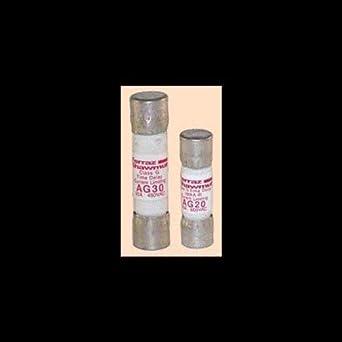 100kA AC 600VAC 13//32 Diameter x 1-5//16 Length Mersen AG Amp-Trap Class G Fuse 3 Ampere