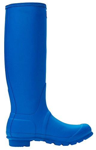 Hunter Damen Original Tall Regenstiefel Azurblau