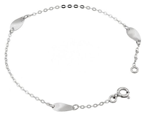 Orleo - REF3803BB : Bracelet Femme Or 18K blanc