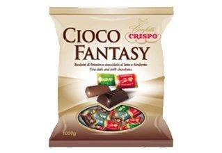 KG 1 bombones surtidos de chocolate de leche y Fondant bauletti de Fine Dark and Milk chiocolate: Amazon.es: Hogar