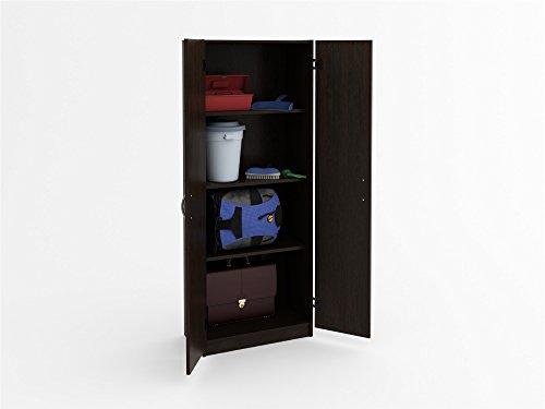 Ameriwood Flynn Storage Cabinet, Espresso