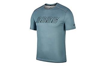 1579a6b2a Nike M Nk DF Miler Tech SS Capsule T-Shirt, Hombre: Amazon.es: Deportes y  aire libre