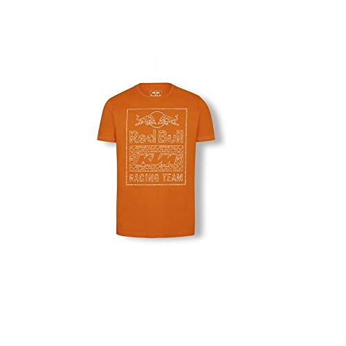 1e934e9f5b2 New OEM Red Bull KTM Racing Team Graphic Tee Shirt -Orange- Size Medium