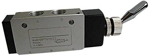 MettleAir MPTV15221PK Pneumatic Valve 5 Way 2 Position Air
