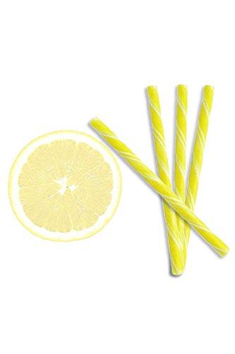 Kencraft Candy Sticks - All Natural Lemon Candy Sticks