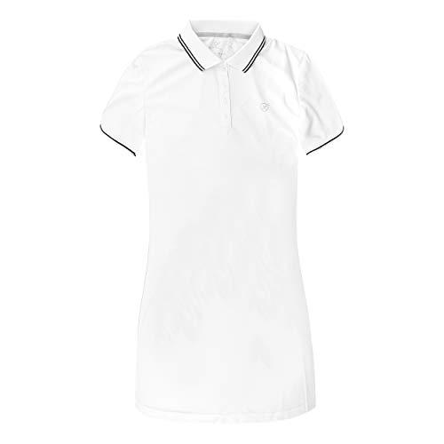Limited Sports Damen Sports, Paula Polo Kleid Weiß, 46 Oberbekleidung